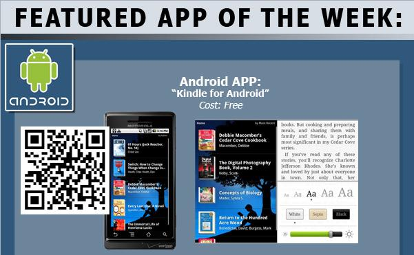 Kindle App for Android Phones